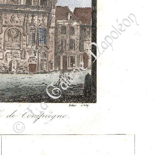 grabados antiguos ayuntamiento de compi gne francia retratos valentin ha y 1745 1822. Black Bedroom Furniture Sets. Home Design Ideas