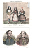 French Costumes - Wedding in a village (Morbihan - France) - Portraits - Hippolyte Magloire Bisson (1796-1827) - Charles Louis du Couëdic (1740-1780)
