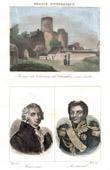 Castle of Ch�tillon-sur Indre (Indre - France) - Portraits - Marivaux (1688-1763) - Henri Gatien Bertrand (1773-1844)