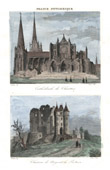 Cathedral of Chartres - Castle of Nogent-le-Rotrou (Eure-et-Loir - France)