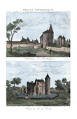 Castle of Montaigne - Michel de Montaigne - Dordogne - Ch�teau de La Br�de - Montesquieu - Gironde (France)