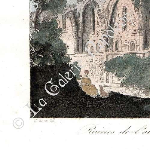 grabados antiguos castillo de valen ay talleyrand renacimiento abadia de d ols arte. Black Bedroom Furniture Sets. Home Design Ideas