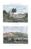 View of Pont du Gard - Chartreuse Notre-Dame-du-Val-de-B�n�diction - Villeneuve-l�s-Avignon (Languedoc-Roussillon - France)