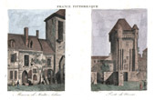 View of Nevers - Ma�tre Adam's House - Adam Billaut - City gate (Ni�vre - France)