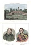 Stich von Bergerie impériale des Landes - Napoléon III. - Solferino (Landes - Frankreich) - Porträts - Vinzenz von Paul (1576-1660) - Lamarque (1770-1832)