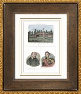 Bergerie imp�riale des Landes - Napol�on III. - Solferino (Landes - Frankreich) - Portr�ts - Vinzenz von Paul (1576-1660) - Lamarque (1770-1832)