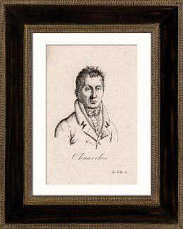 Portr�t von Fran�ois Bernard Chauvelin (1766-1832)