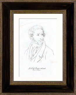 Portr�t von Louis-Gustave Doulcet de Pont�coulant (1764-1853) - Franz�sisch Politiker