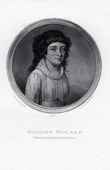 Porträt von Madame Roland (1754-1793)