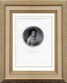 Portr�t von Madame Roland (1754-1793)