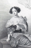 Portrait of Marie-Angélique de Scoraille de Roussille, Duchess of Fontanges (1661-1681)