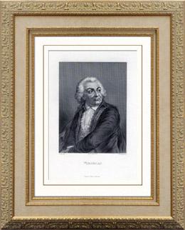 Portr�t von Mirabeau (1749-1791)