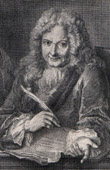 Portrait of Charles Rivierre Dufresny (1657-1724)