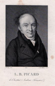 Portrait of Louis-Benoît Picard (1769-1828) - French Dramaturge