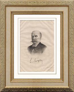 Porträt von Ernest Reyer (1823-1909)