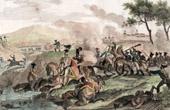 Death of J�zef Antoni Poniatowski (1763-1813) - Marshal of the Empire - Napoleonic Wars - Battle of Leipzig - 1813