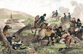 Napoleonic Wars - Napoleon Bonaparte - Battle of Bautzen - Wurschen  (Mai 1813) - Death of Duroc - Campaign in Germany