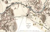 Ancienne carte - Guerres napoléoniennes - Guerre d'Indépendance Espagnole - Bataille de Vitoria (Juin 1813)