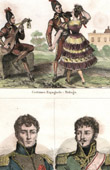 Spanish Traditional Costume - Málaga (Spain) - Portraits - Auguste Colbert (1777-1809) - Montbrun (1770-1812)