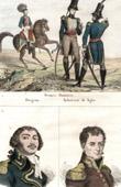 Danish costumes - Military Uniform - Denmark - Portraits - Dampierre (1756-1793) - Lazare Carnot (1753-1823)