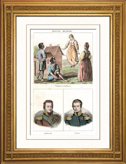 Russische Tracht  - Kost�me - Spielen - Russische Mode - Russland - Portr�ts - Jean-Henri Dombrowski (1755-1818) - Samuel R�życki (1781-1834)
