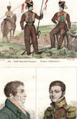 Military Uniform - France - Imperial Guard - Lituanie - Tartares - Portraits - Frederick d'York (1763-1827) - Mikha�l Semionovitch Vorontsov (1782-1856)