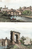 View of Manresa - Bridge of Martorell - Catalonia (Spain)