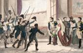 Napoleon Bonaparte - The Emperor and National Guard - 1814