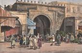 Stich von Tunis - Bab el Bahr - Porte de France (Tunesien)