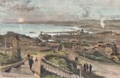 View of Marseille - Basilica Notre-Dame-de-la-Garde - Provence (France)