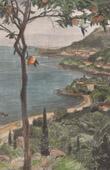 Stich von Monaco - Monte Carlo - Côte d'Azur (Frankreich)