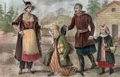 Traditionelle Kleidung - Adel - Wilno - Vilnius - Polen - Litauen