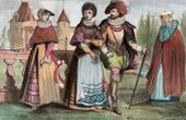 Historical Costume - Denmark - Copenhagen - 17th Century