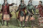 Historical Costume - Caucasus - Circassians - Cherkess - Adyghe - Adygs (Russia)