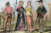 Italian Costume - Italian Fashion - Italy - Nobility - Page (Middle Ages)