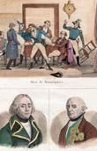 Death of Beaurepaire (1740-1792) - Portraits - François-Christophe Kellermann (1735-1820) - Duc de Brunswick Lunebourg (1736-1806)