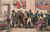 French Revolution - Meet of Marat and Dumouriez (October 16th, 1792) - Bourbotte - National Convention