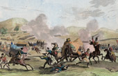Napoleonic Wars - Napoleonic Campaign in Egypt - Battle near of Cairo - 1798 (Egypt)