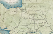Antique map - Military Vendée (Rennes - Angers) - 1794