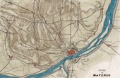 Map - Siege of Mainz - Germany - 1793
