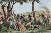 Haiti - Burning of the Plaine Du Cap (1794)