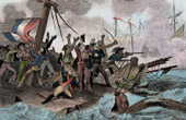 French Revolution - Shipwreck of the Le Vengeur - Glorious First of June