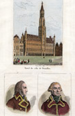 City's Town Hall of Brussels (Belgium) - Portraits - Louis-Philippe (1773-1850) - Dumouriez (1739-1823)