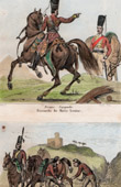 Troupe Espagnole - Hussards de Marie Louise - Napol�on Bonaparte