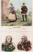 Costume Hollandais - Mode Hollandaise - Portraits - Amiral De Winter (1761-1812) - Pichegru (1761-1804)