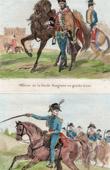 Ungarische Typische Kleidung - Uniform - Ungarn - Armee aus usgewanderte - Franz�sischen Revolution