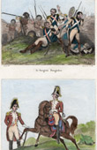 Death of Dougados (1793) - Spanish Army - Carabinier