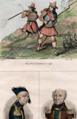 Spanish Costume - Miquelets - Miguelete - Catalonia (Spain) - Portraits - General Dagobert (1736-1794) - Turreau (1756-1816)