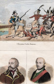 French Revolutionary Wars - First Coalition - Austria - Portraits - Custine (1742-1793) - Frédéric-Guillaume II de Prusse (1744-1797)
