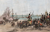 French Revolution - Capture of the Dutch Fleet in Helder (January 21st 1795)